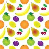 Gartenfruchtmuster lizenzfreie abbildung