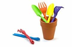 Gartenhandhilfsmittel Lizenzfreies Stockfoto