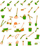 Gartenhilfsmittel Stockfotografie