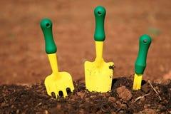 Gartenhilfsmittel Stockfoto