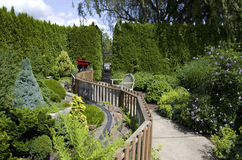 Gartenhinterhofdesign Lizenzfreies Stockbild