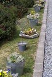 Garteninneres Stockfotos