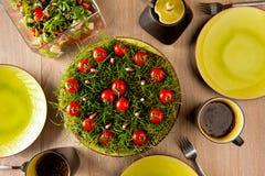 Gartenkuchen Stockfoto