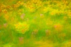 Gartenlandschaft mit Tulpen Lizenzfreie Stockfotografie