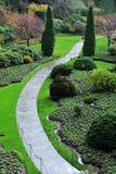 Gartenlandschaftsgestaltung Lizenzfreie Stockfotografie