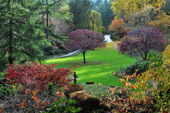 Gartenlandschaftsgestaltung Lizenzfreies Stockfoto