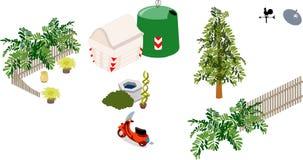 Gartenmöbel Lizenzfreies Stockfoto