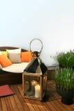 Gartenmöbel Stockbild
