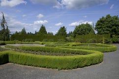 Gartenmusterdesign Lizenzfreies Stockfoto