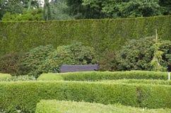 Gartenmusterdesign-Ruheecke Lizenzfreies Stockbild