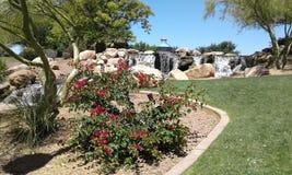 Gartenoase Stockbilder
