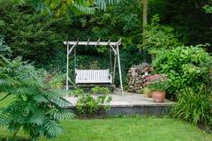 Gartenpatio lizenzfreies stockfoto