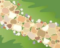 Gartenpfad Stockfoto
