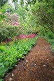 Gartenpfad stockbild