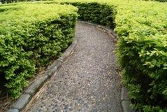 Gartenpfade stockfotos