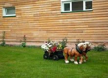 Gartenpflanzer Stockfotografie