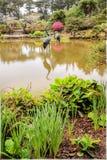 Gartenporträt stockbilder