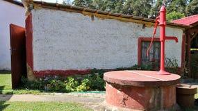 Gartenpumpe Stockbild