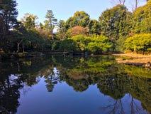 Gartensee Heian Jingu Stockbilder