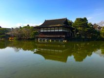 Gartensee Heian Jingu Lizenzfreie Stockfotos