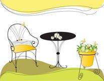 Gartenset Lizenzfreie Stockbilder