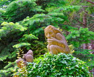 Gartenskulptur Lizenzfreie Stockfotos