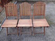 Gartenstühle Lizenzfreies Stockfoto