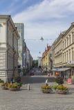Gartenstraße Lizenzfreies Stockfoto