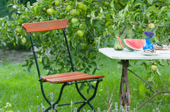 Gartenszene Stockfotografie