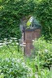 Gartentor Stockbild