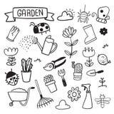 Gartenvektor-Sammlungsdesign vektor abbildung