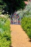 Gartenverzierung bei Blickling Hall Stockfotografie