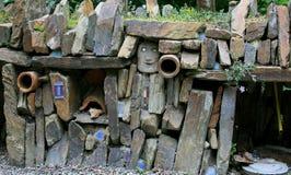 Gartenwand Stockbilder