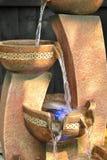 Gartenwassermerkmal Lizenzfreie Stockfotos