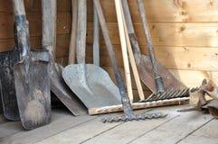 Gartenwerkzeuge Lizenzfreie Stockfotografie