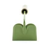 Gartenwerkzeuge mit grünen Griffen Stockbild