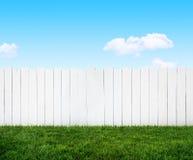 Gartenzaun Stockbild