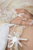 garter γάμος Στοκ εικόνα με δικαίωμα ελεύθερης χρήσης