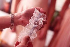 Garter for the bride Royalty Free Stock Photos