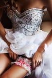 Garter for bride Royalty Free Stock Photos