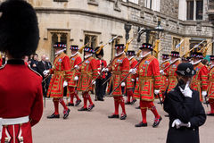 Garter Day Windsor Castle Royalty Free Stock Image