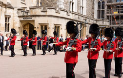 Garter Day Windsor Castle Royalty Free Stock Photos
