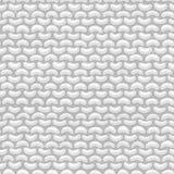 Garter Stitch. Seamless pattern. Royalty Free Stock Photography