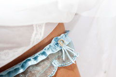 Garter for the wedding Royalty Free Stock Photo
