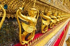 garuda雕象样式泰国传统 免版税库存图片