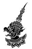 Garuda, προστατευτικό διάνυσμα πουλιών του βασιλιά Στοκ Εικόνα