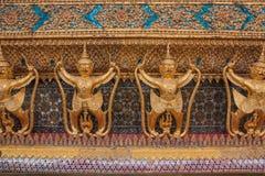 Garuda σε Wat Phra Kaew, ναός του σμαραγδένιου Βούδα, μεγάλο PAL Στοκ φωτογραφίες με δικαίωμα ελεύθερης χρήσης