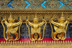 garuda χρυσό Στοκ Φωτογραφίες