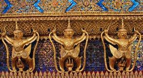 Garuda в дворце Wat Phra Kaew грандиозном Таиланда, который нужно найти Стоковые Фотографии RF