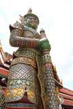 Garuda в Wat Phra Kaew, виске изумрудного Будды, грандиозный дворец, Стоковая Фотография